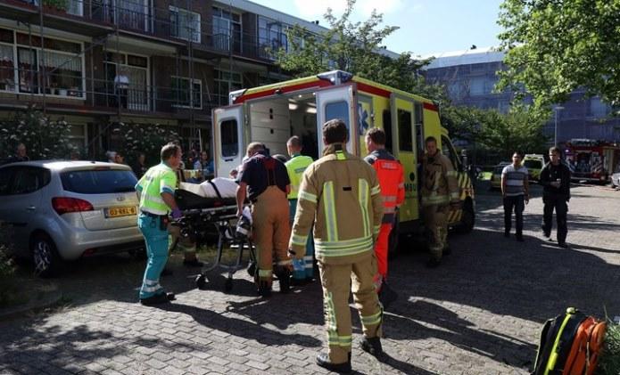 Vier-zwaargewonden-bij-brand-in-Schiedam-Foto-MediaTV (1)