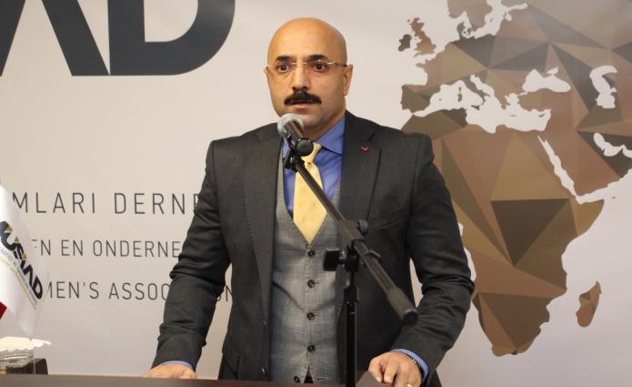 rotterdam baskonsolosu Sadin Ayyildiz musiad 2018