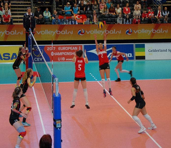 2017 CEV U18 Bayanlar Avrupa Voleybol _ampiyonas_ Arnhem  (4)