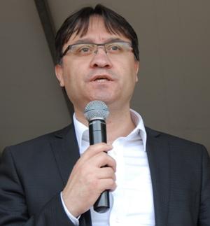 Hollanda Türk Federesyonu genel başkanı Murat Gedik, (1)