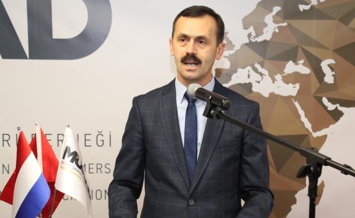 musiad rotterdam baskani Mustafa Duyar 2018 resepsiyonu